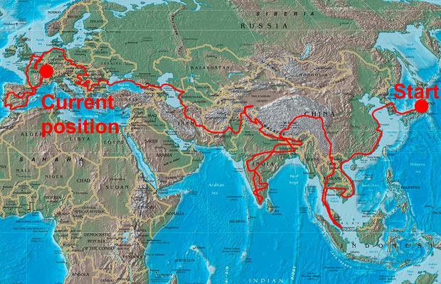 хорошие новости - карта маршрута